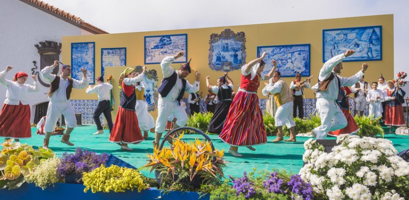 Folklorní večer na Madeiře