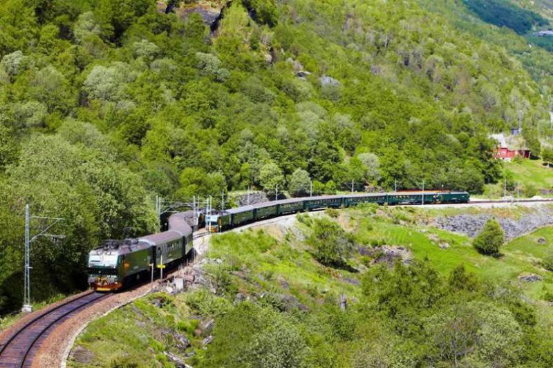 Výlet železnicí