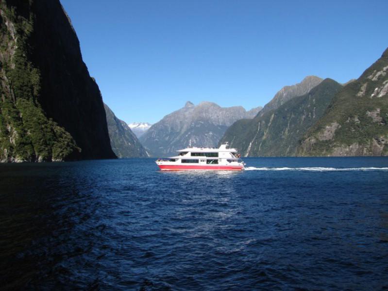 Plavba po Milford Sound, nejdeštivějším místě na světě