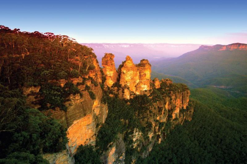 Fakultativní výlet BLUE MOUNTAINS - Modré hory