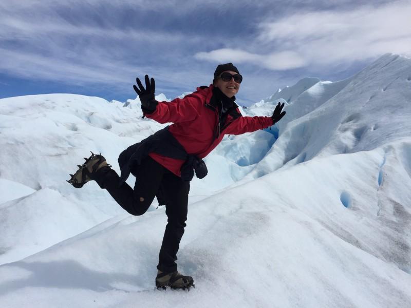Patagonie zážitek: Perito Moreno aktivně