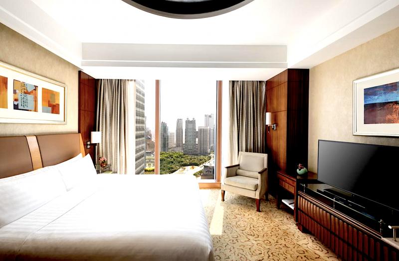 Luxusní hotel v Šanghaji: Pudong Shangri La Šanghaj ***** | 2 noci