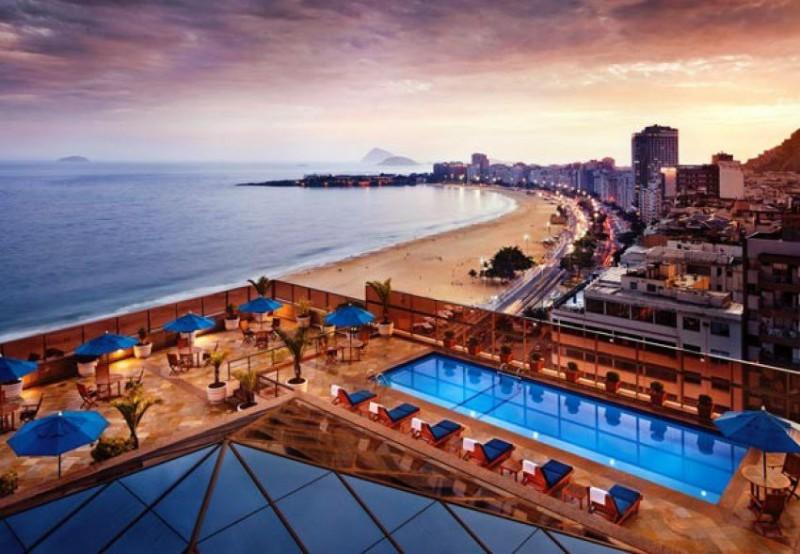 Nejlepší hotely světa: JW Marriott Copacabana Rio de Janeiro | 4 noci