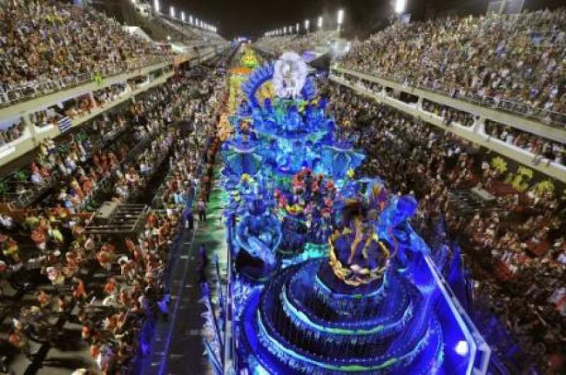 Vstupné na Sambodróm během Karnevalu v Rio de Janeiro