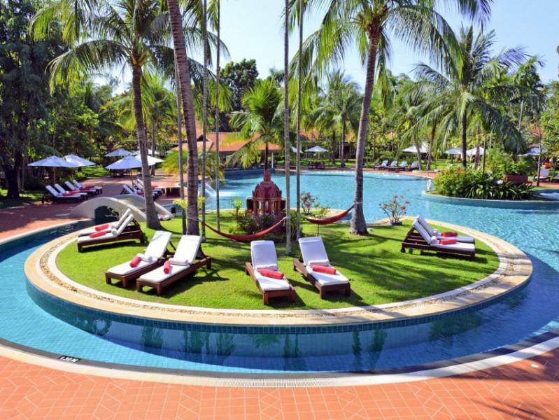 Nejlepší hotely světa: Sofitel Angkor Phokeethra golf and spa resort Angkor Wat / Siem Reap | 2 noci