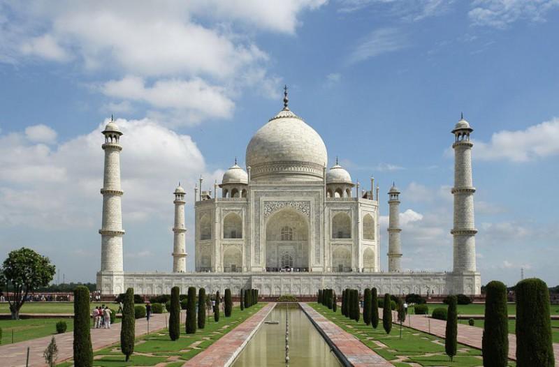 Fakultativní výlet k Taj Mahalu do Agry
