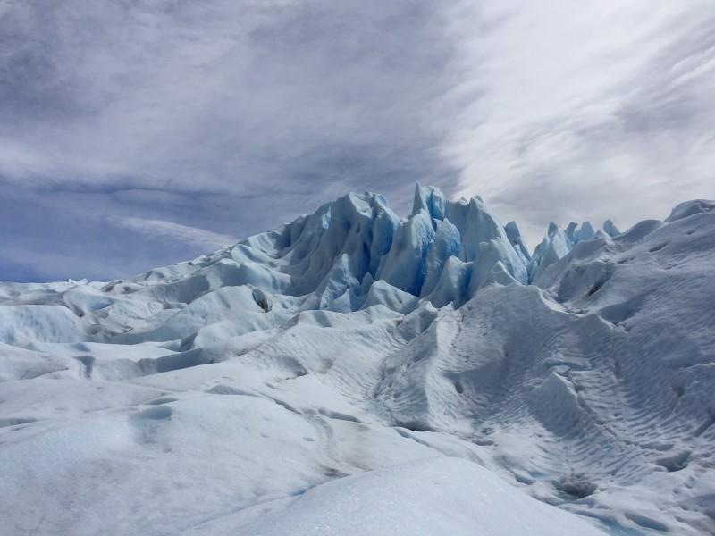 Výlet k ledovci Upsala, Patagonie
