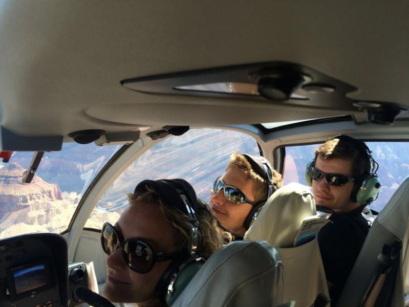 Vrtulníkem nad Grand Canyon