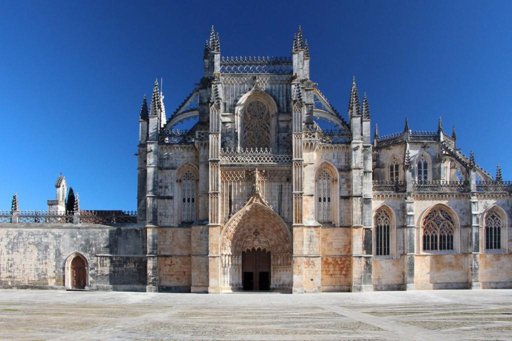 Impozantní klášter v Batalhe