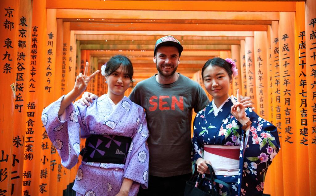 Ve společnosti japonských gejš