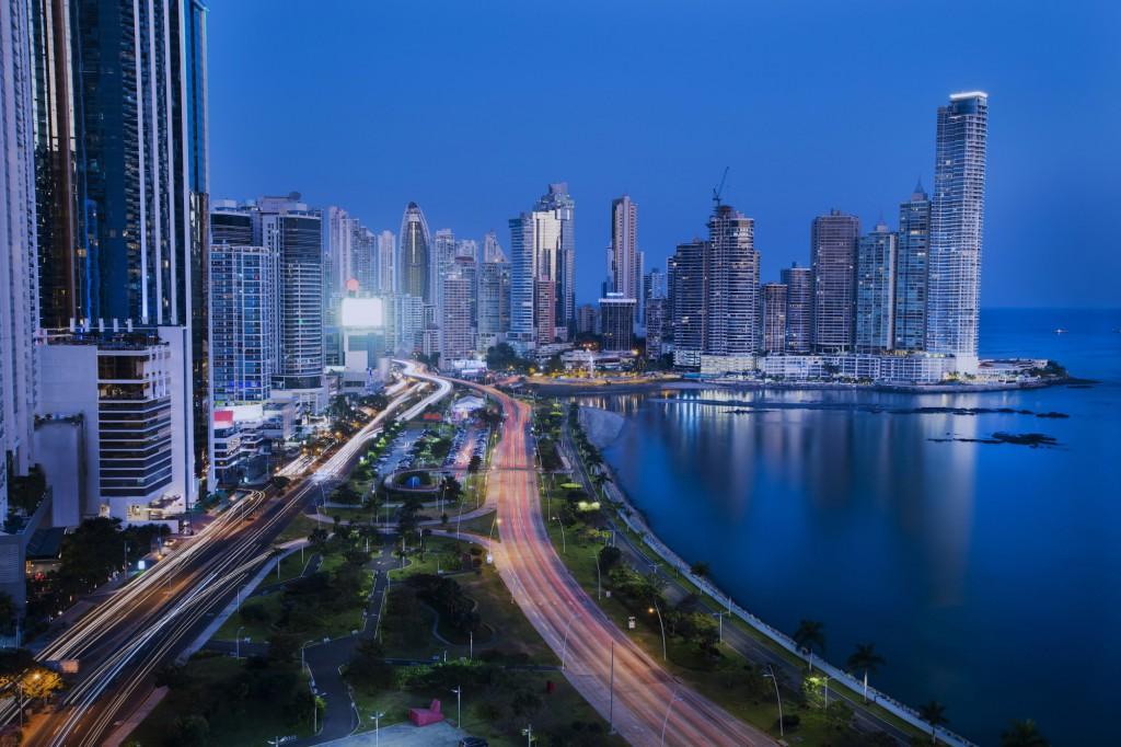 Moderní Panama city