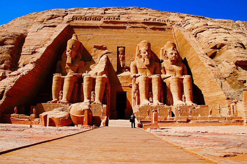 S CK SEN navštívíte archeologickou lokalitu Abu Simbel