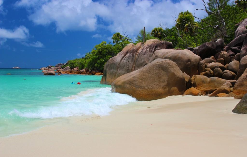 Nejkrásnější pláže na ostrově Praslin