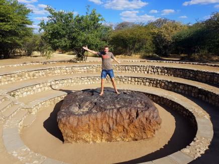 V Namibii uvidíte zatím největší nalezený meteorit
