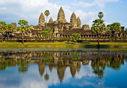 Angkor Wat v Kambodži