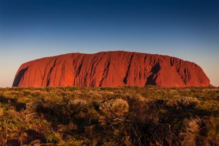 Uluru, Austrílie, outback