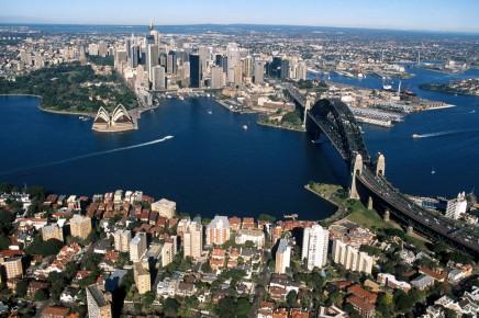 Sydney v Austrálii, Harbour bridge