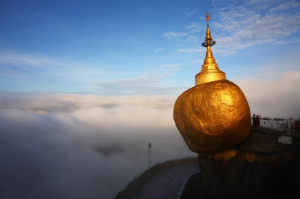 Kyaikhtiyo, zlatý balvan, Barma