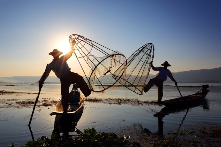 Barma, jezero Inle