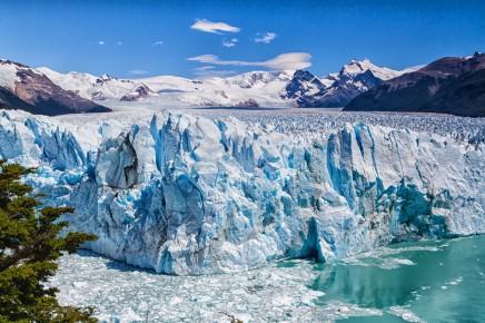 ledovec Perito Moreno v Patagonii