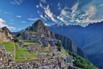 Machu Picchu v Peru
