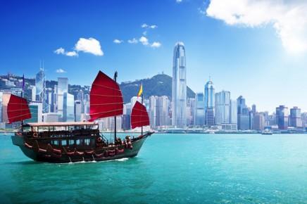 Východní Asie - Hongkong