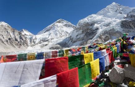 Mt. Everest, nepál