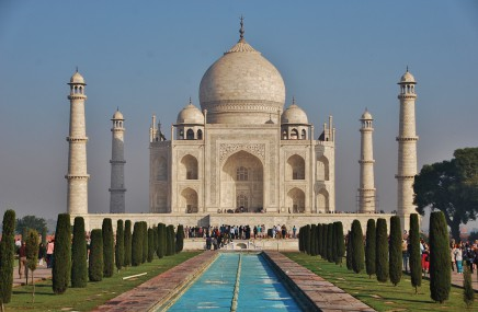 Indie, Taj Mahal, stavba z lásky