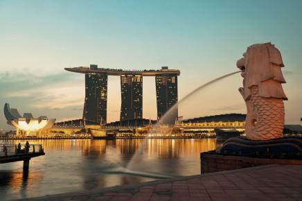 Singapur, Marina bay sands hotel