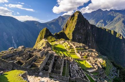 Machu Picchu v Peru, Jižní Amerika