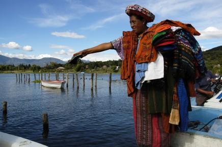 Guatemala, jezero Atitlán