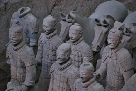 terakotová armáda v Číně