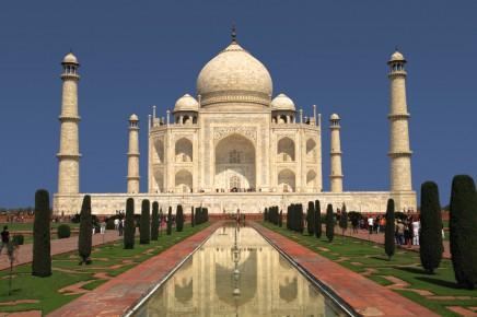 Indie, Agra, Taj Mahal