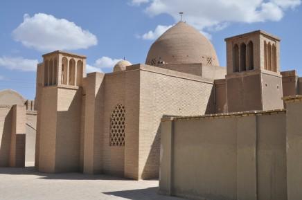 Město v poušti Yazd, Írán