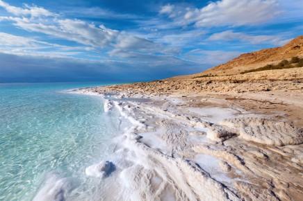 Mrtvé moře, Jordánsko, Izrael