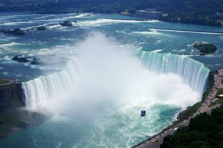 Niagarské vodopády v Kanadě