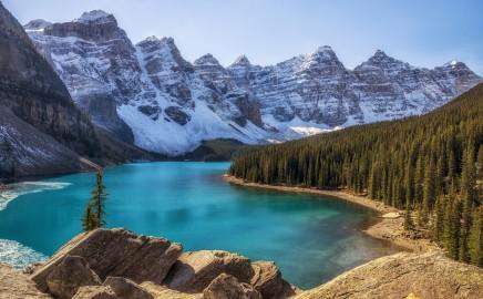 Kanada národní park Banff