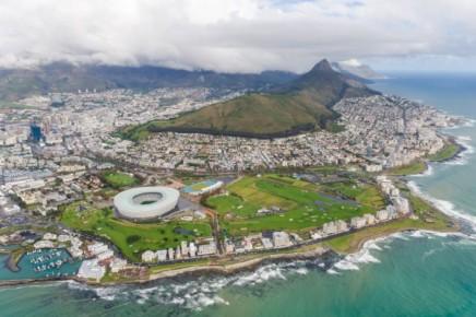 Kapské Město v JAR