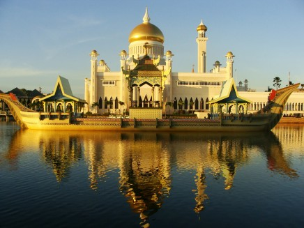 Asie - Brunej