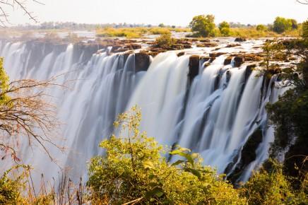 Jižní Afrika - Viktoriiny vodopády