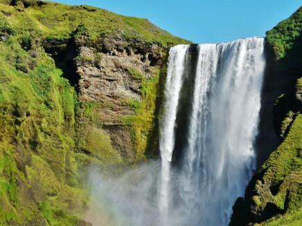 vodopády na Islandu