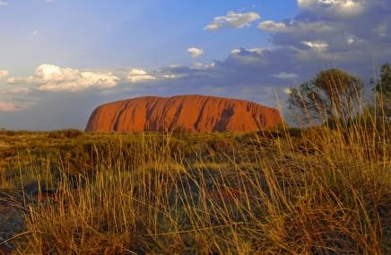 Uluru v Austrálii