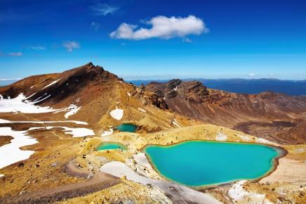 Nový Zéland - Tongarido národní park