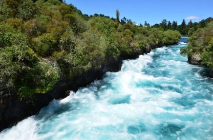 Vodopády Huka Falls