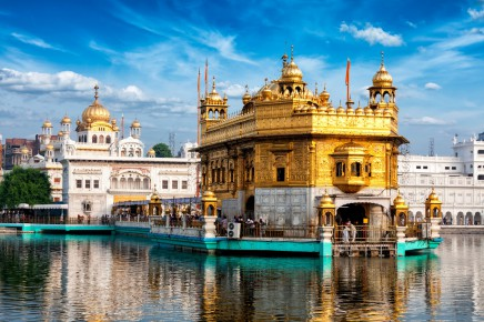 Zlatý chrám - Amritsar, Indie
