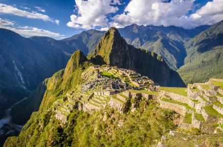 Novodobý div světa Machu Pichu