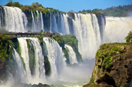 Brazílie - vodopády iguazu