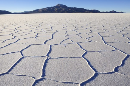 solná poušť Salar de Uyuni, Bolívie