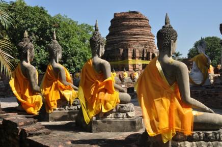 Ayutthaya - Thajsko