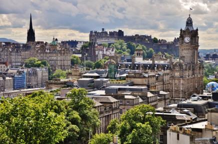 Edinburgh ve Skotsku